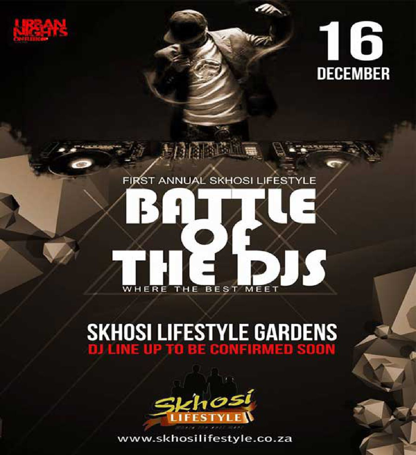 battle of the DJs at Skhosi Lifestyle